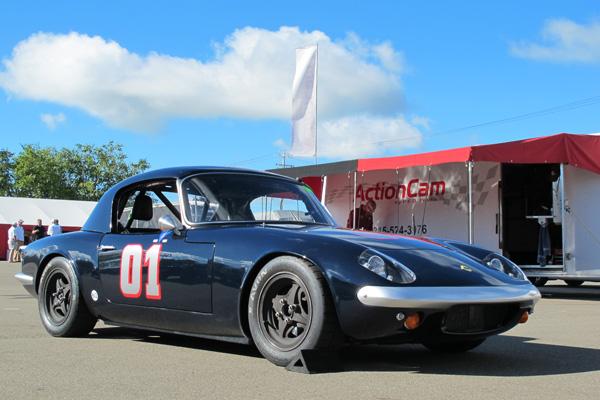 Alan Toslers 1965 Lotus Elan Race Car Number 01
