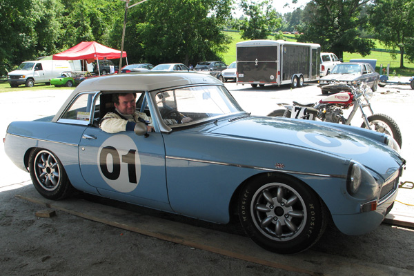 Alan Tosler's MGB Race Car, Number 01