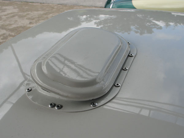 This is a period vent, as fitted to some of the Competitions Department's MGB's.