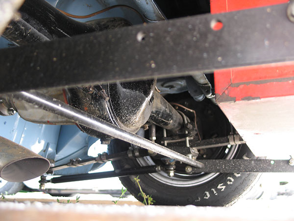 Early-model MGB banjo axle, except with Salisbury tube axle ends...