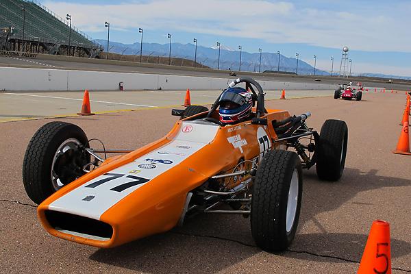 Andy Antipas' 1973 Titan Mk6 Formula Ford Racecar, Number 77