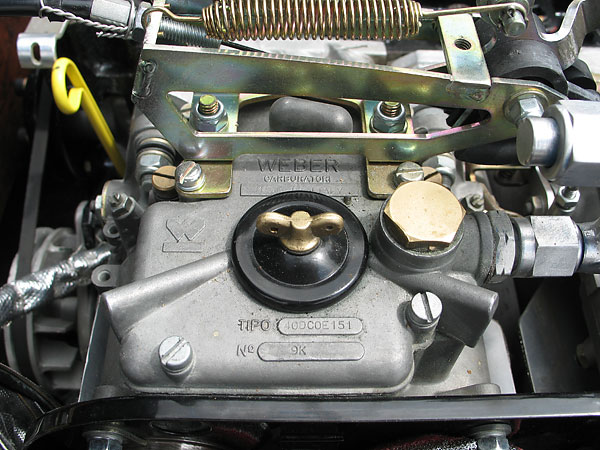 Weber Carburetor, Made in Italy