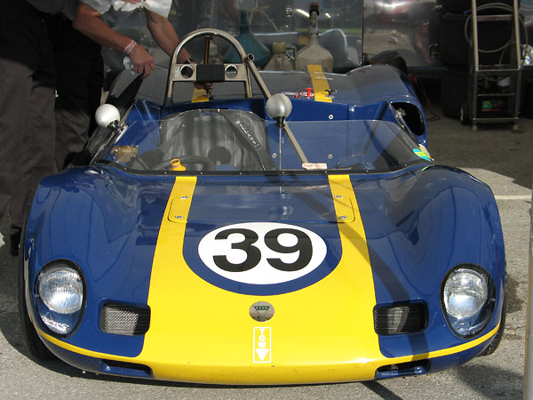 The Elva Mk7/7S was very successful in SCCA's G-Modified and F-Modified classes.