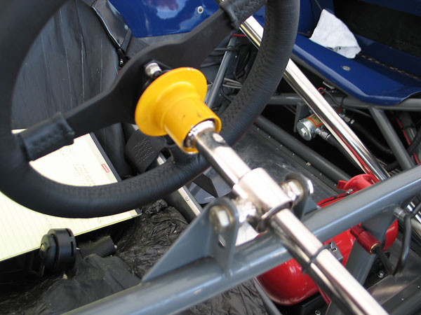 Steering wheel quick release: FIA technical specification Appendix J Article 255 (dated 01-01-2003)