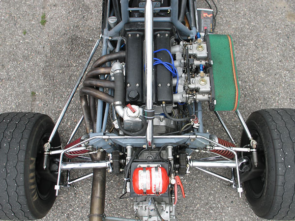 Lotus-Ford twin-cam 1.6L engine.