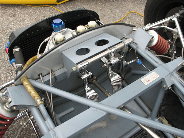 However, other frame tubes are still used for venting the oil reservoir to a breather/overflow tank.