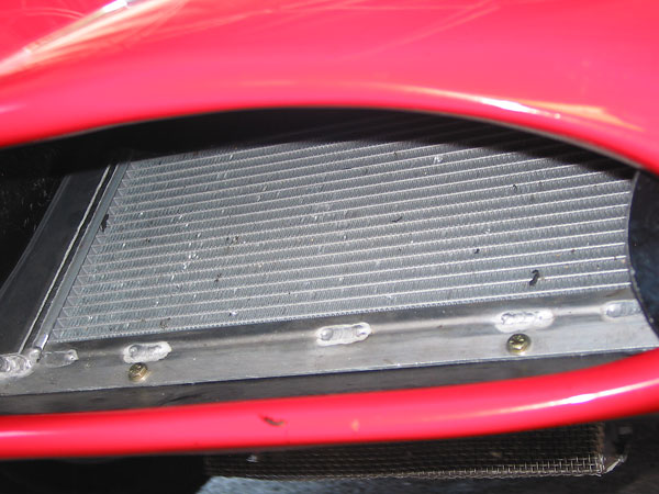 Tony Garmey of Horizon Racing created this radiator by welding two off-the-shelf radiators together.