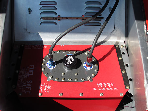 Fuel Safe steel canister fuel cell.