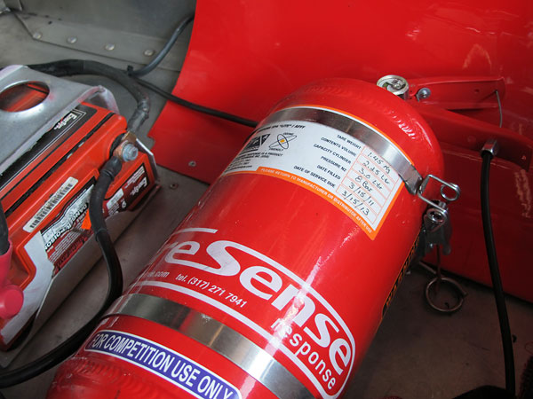 SPA Design FireSense fire suppression system.