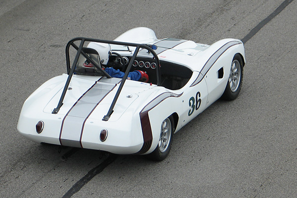 Bill Thumel's Elva Courier Race Car, Number 36