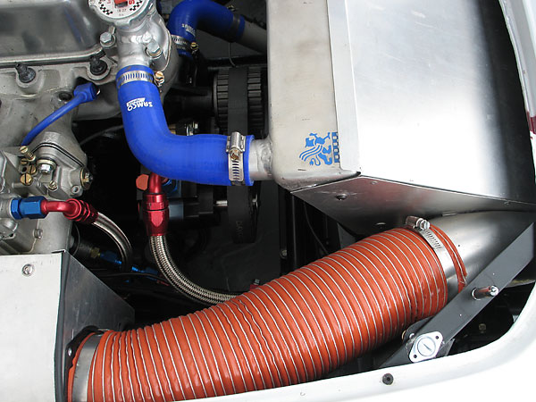Cold air induction hose.