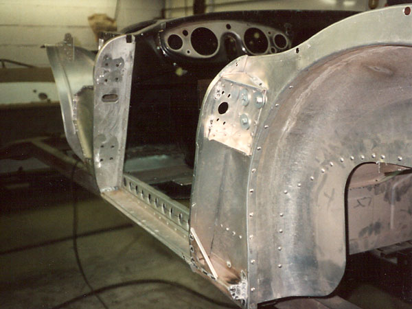 5: lightening holes in the Healey superstructure
