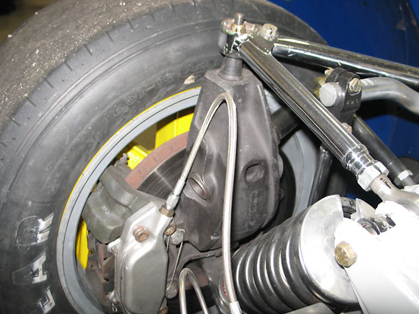 tubular steering arm
