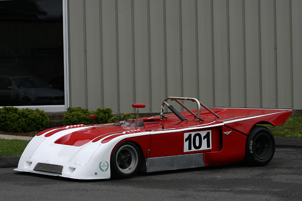 Bob Machinist's 1972 Chevron B21 FIA Group 5 Vintage Racecar