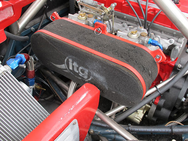 ITG Red Band Megaflow (JC50) foam air filter.