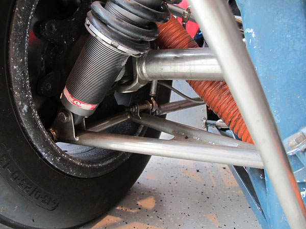 Outboard U-joints may be the weakest part of the car.