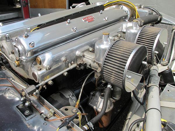 The Bob Millstein Walt Hansgen Jaguar Xk120 Special