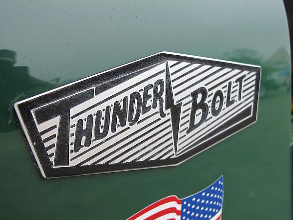 Beady Eye Vintage Racing's Tornado ThunderBolt Race Car