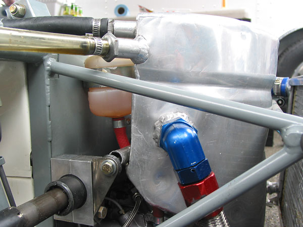 Notice that this Brabham BT30's frame has a steel front bulkhead.