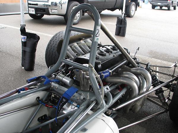 Brabham BT30 roll hoop.