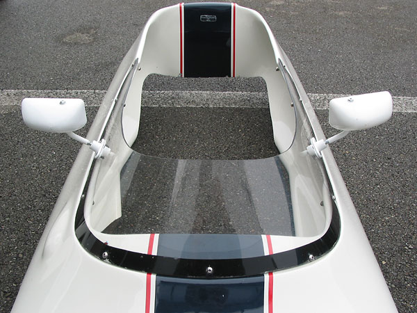 The decal reads: Bodywork by Specialised Moulding Ltd., England