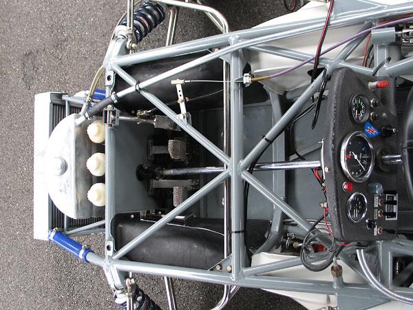Brabham BT30 frame construction details.
