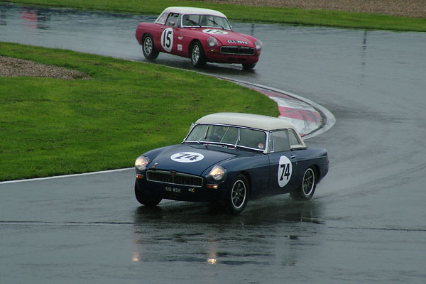 British Motor Heritage's 1964 FIA-spec MGB Race Car