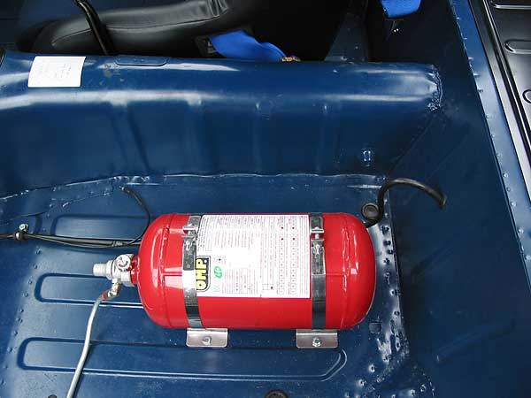 Fire suppression system bottle