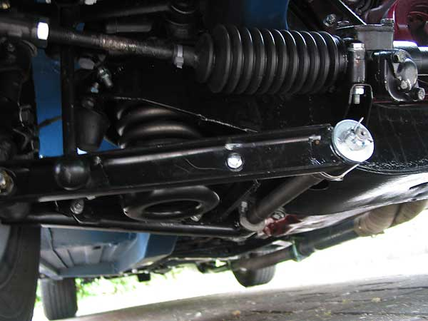 Class rules require essentially stock suspension/brakes