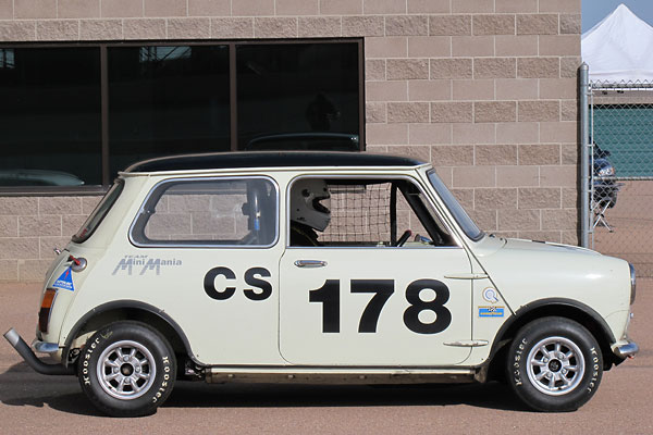 bruce mccalister 39 s 1968 austin mini cooper s mkii race car. Black Bedroom Furniture Sets. Home Design Ideas