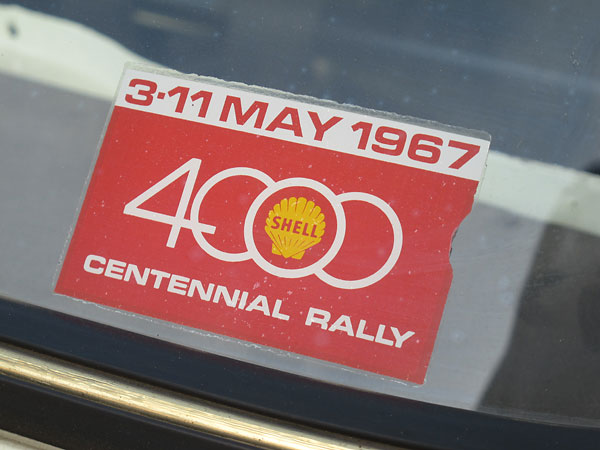 3-11 May 1967 - Shell 4000 Centennial Rally