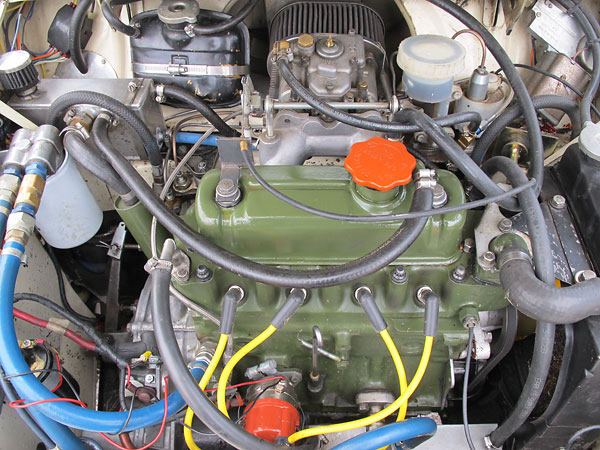 BMC A-Series 1275cc four cylinder engine, bored to 1312cc.