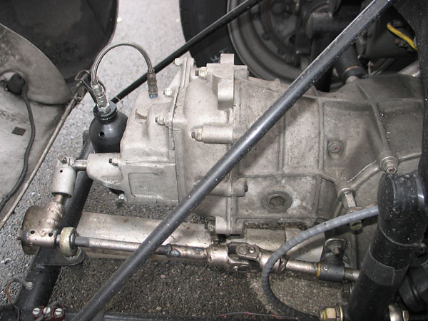 Volkswagen 4-speed transaxle with reverse.