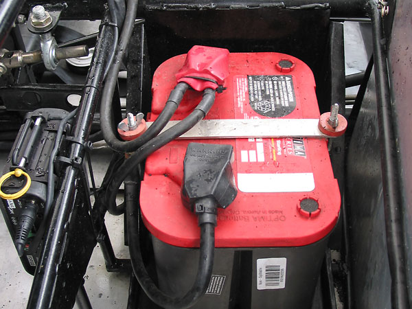 Optima red top battery.