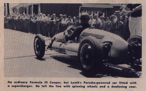 1954 Giant's Despair hillclimb (Wilkes-Barre PA) race report. (Photo by Ozzie Lyons.)