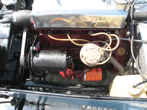 XPAG engine was introduced in 1939 on the Morris 10