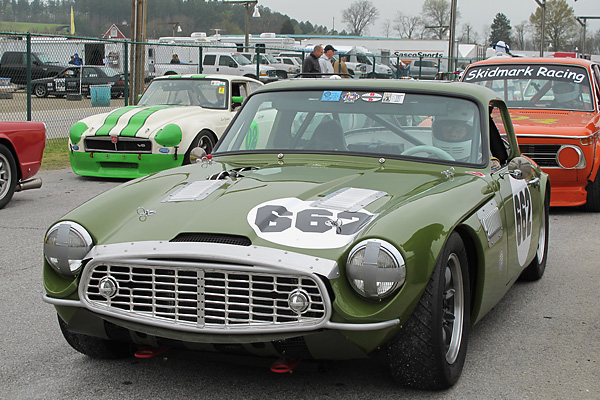 Triumph Car Tr4