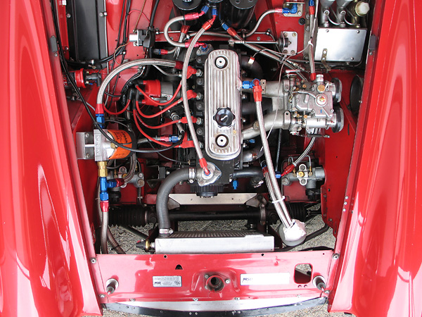 Mg midget engine parts