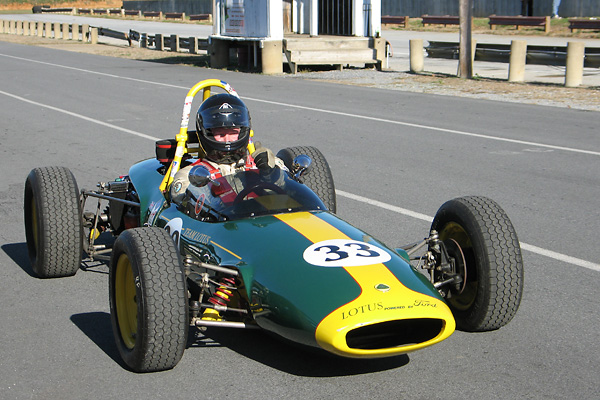 Dick Leehr's 1968 Lotus 51c Formula Ford Race Car, Number 94