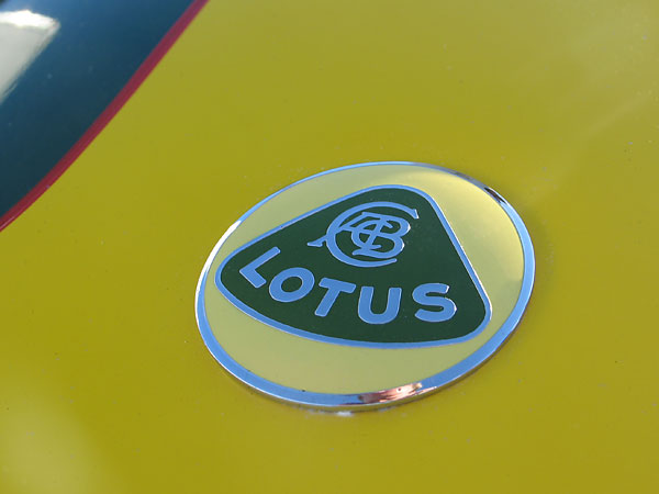 Lotus badge.