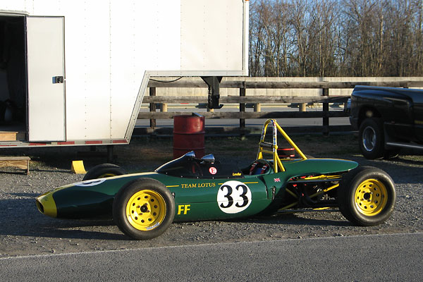 Rather pricey in their day, only four Lotus 69 Formula Fords were exported to North America.