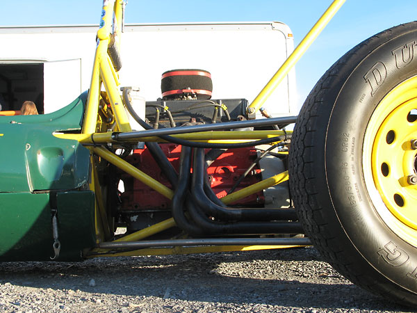 The Lotus 51 came standard with a 4-2-1 (tri-Y) header, but most have been updated.