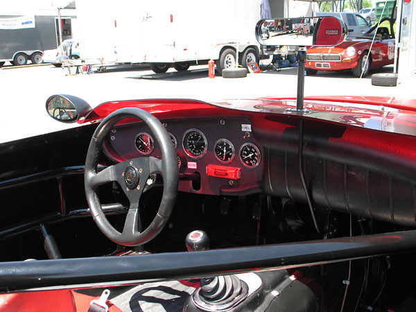 Abingdon Pillow style dashboards were used by MG from 1968 through 1971.