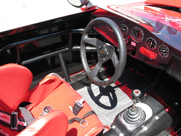 Side intrusion bars that extend into the door cavity were added for SCCA racing in the 1980s.