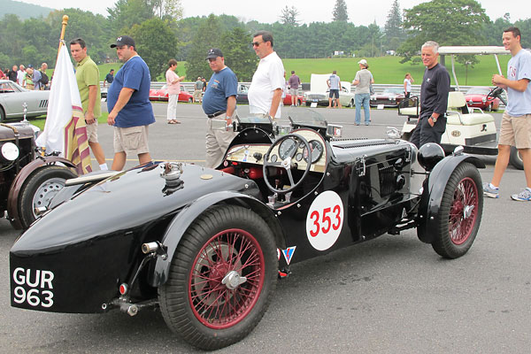 Harry Lester's MG P-type GUR963