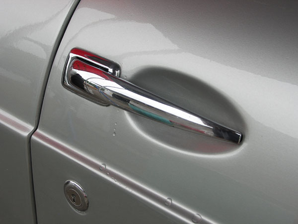 Pull handle doors were used on MGB's until April 1965.
