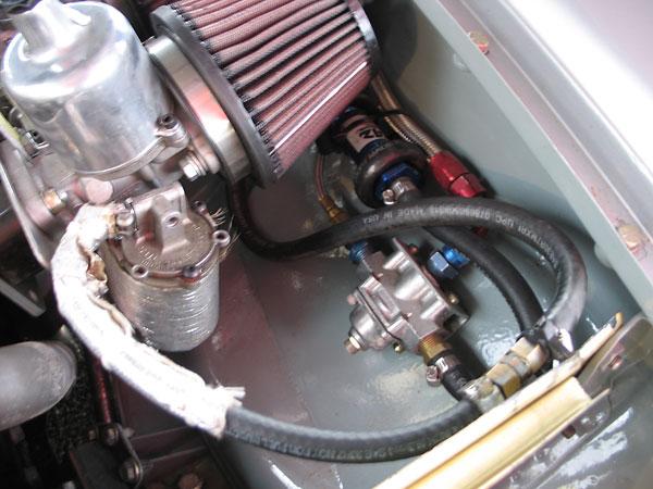 Eddie Beal's Huffaker Engineering built MGB Race Car, Number 9British Racecar