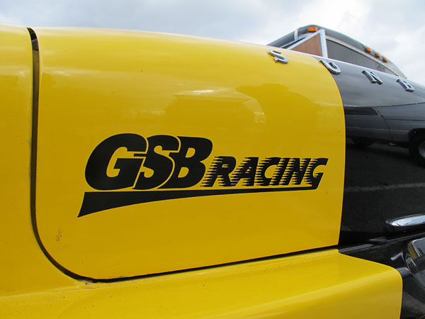 GSB Racing decal.