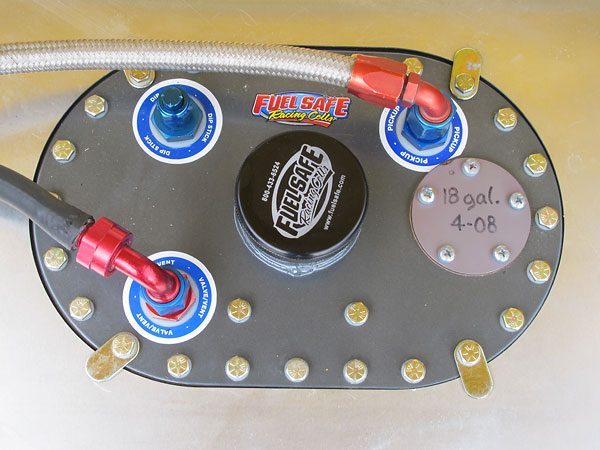Fuel Safe 18-gallon fuel cell.