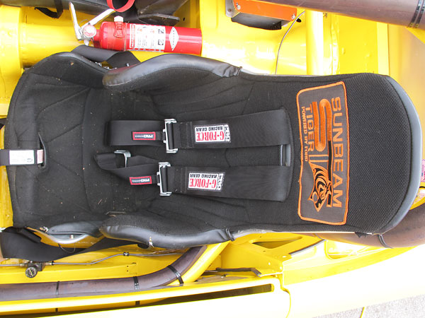 Kirkey aluminum racing seat.